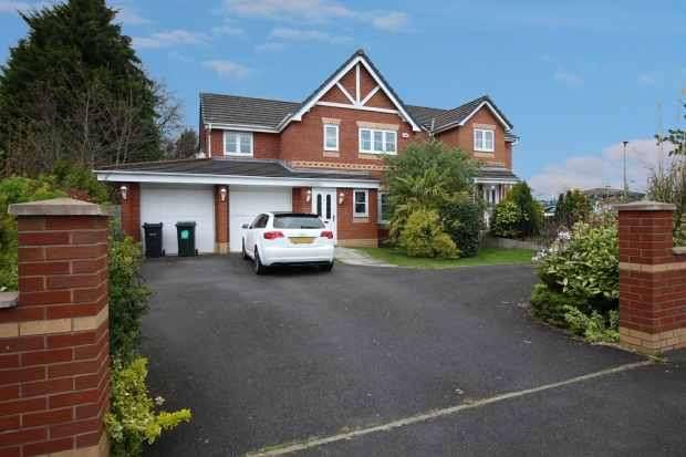 4 Bedrooms Detached House for sale in Parklands, Ellesmere Port, Cheshire, CH66 3RL