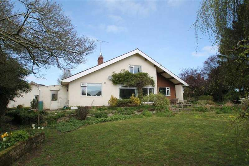 4 Bedrooms Detached Bungalow for sale in Rushbury Road, Church Stretton, Shropshire