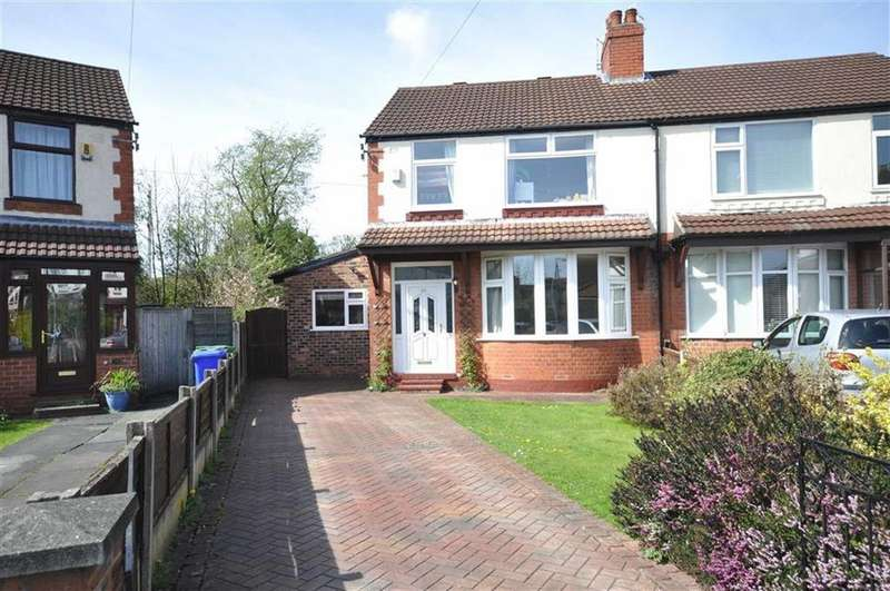3 Bedrooms Semi Detached House for sale in Withnell Road, Burnage, Manchester, M19