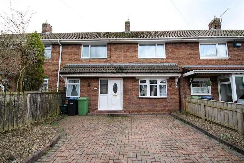 3 Bedrooms Terraced House for sale in Fern Grove, Middlestone Moor