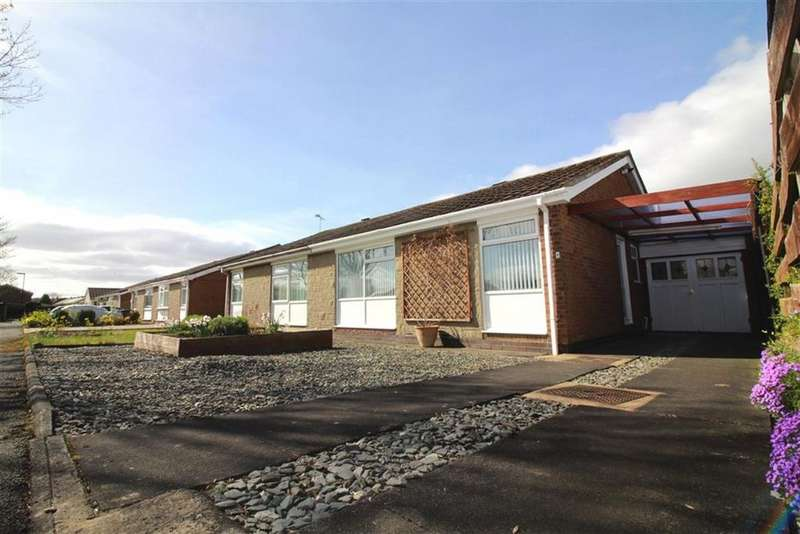 2 Bedrooms Semi Detached Bungalow for sale in Arundel Close, Newcastle Upon Tyne, NE13