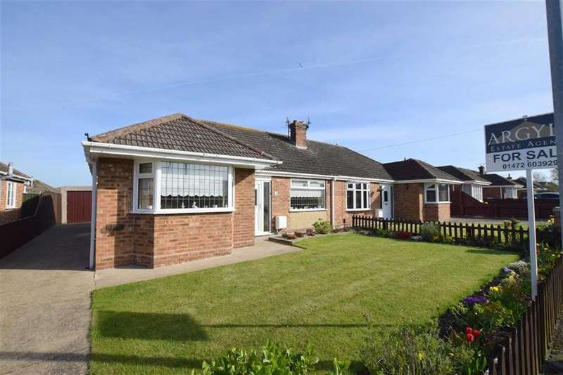 3 Bedrooms Semi Detached Bungalow for sale in Queen Elizabeth Road, Humberston, North East Lincolnshire