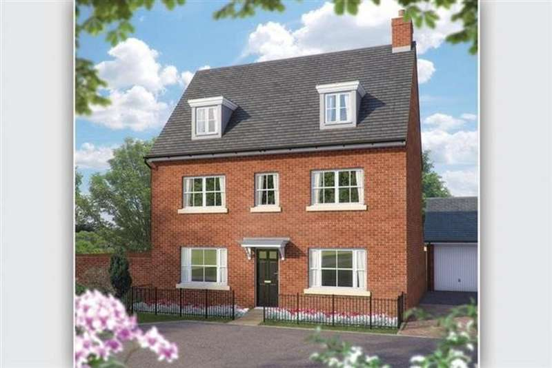 5 Bedrooms Detached House for sale in Plot 404 The Faulkner, Woodlands