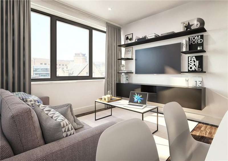 2 Bedrooms Flat for sale in The Fitzgerald, West Bar, Sheffield, South Yorkshire, S3