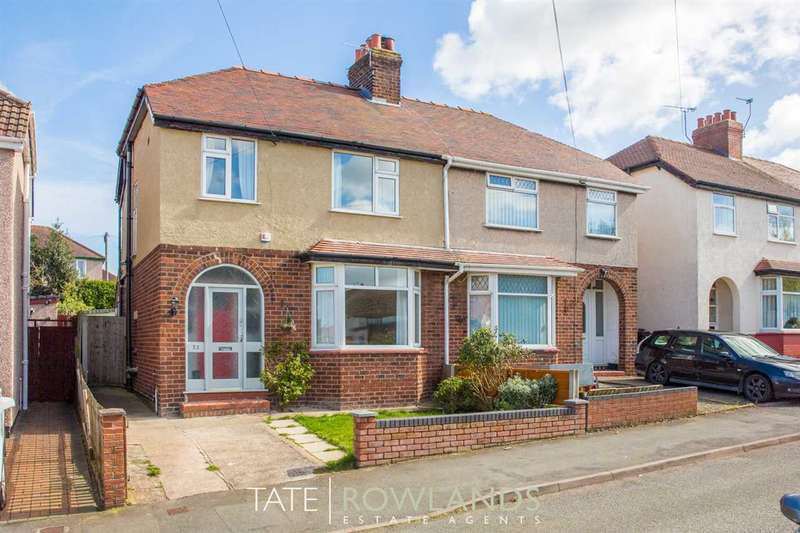 3 Bedrooms Semi Detached House for sale in Third Avenue, Flint