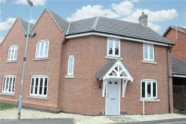 3 Bedrooms Semi Detached House for sale in Bartlett Close, Earl Shilton, Leicester