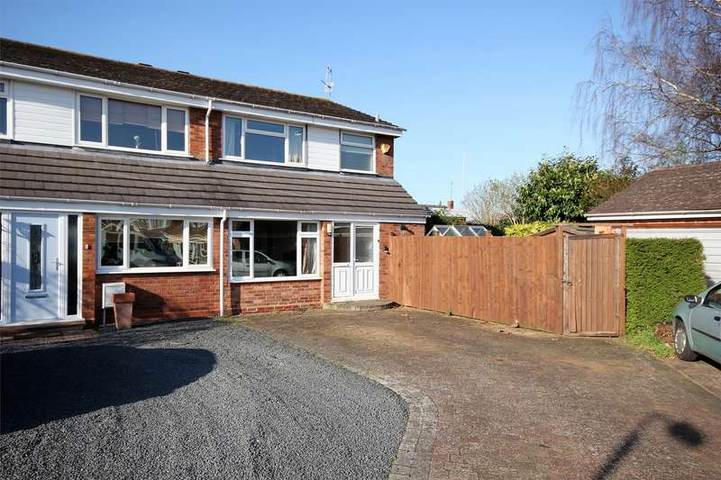3 Bedrooms Semi Detached House for sale in Willow Drive, Primsland, Droitwich, Worcestershire