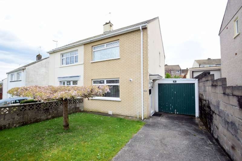 2 Bedrooms Semi Detached House for sale in 13 Shakespeare Avenue, Cefn Glas, Bridgend, Bridgend County Borough, CF31 4RY.