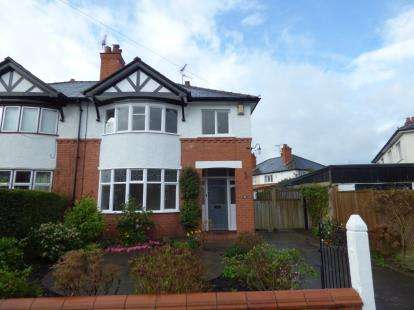 3 Bedrooms Semi Detached House for sale in Lache Park Avenue, Chester, Cheshire, CH4
