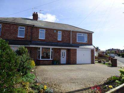 4 Bedrooms Semi Detached House for sale in Greystead Road, South Wellfield, Whitley Bay, Tyne and Wear, NE25