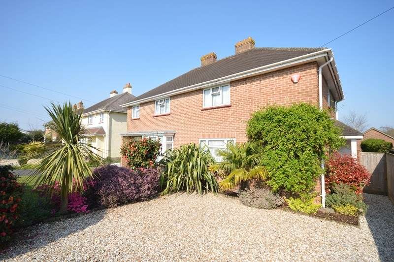 3 Bedrooms Semi Detached House for sale in Highfield Road, Lymington