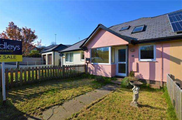 2 Bedrooms Terraced Bungalow for sale in Rangers Close, Buckfastleigh, Devon