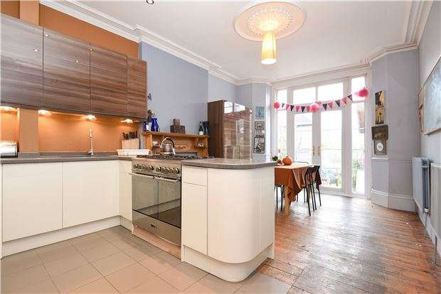 5 Bedrooms Semi Detached House for sale in Heybridge Avenue, LONDON, SW16 3DX