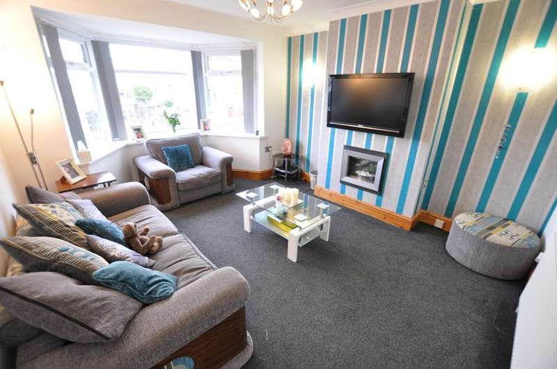 3 Bedrooms Semi Detached House for sale in Cannock Avenue, Blackpool, Lancashire, FY3 7HH
