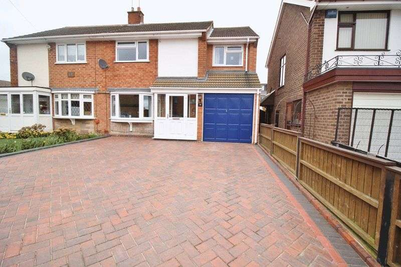 4 Bedrooms Semi Detached House for sale in Milldale Crescent, Fordhouses, Wolverhampton