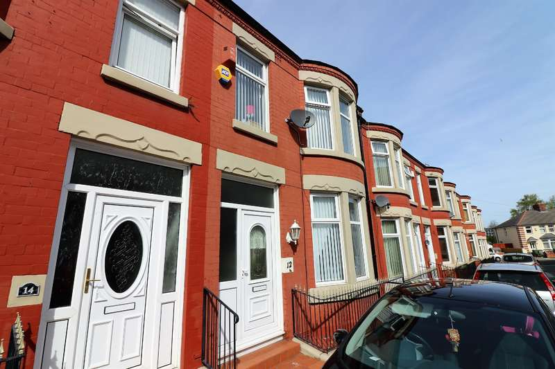 3 Bedrooms Terraced House for sale in Colwyn Street, Birkenhead, Wirral, CH41 0BB