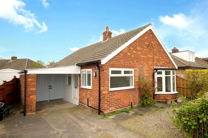 3 Bedrooms Detached Bungalow for sale in Ashley Park Road, Stockton Lane, York, YO31 1HP