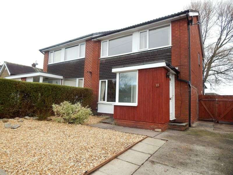 3 Bedrooms Semi Detached House for sale in Woodlands Avenue, Penwortham, Preston