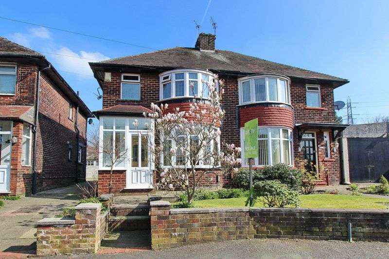 3 Bedrooms Semi Detached House for sale in Hardmans Road, Whitefield, Manchester