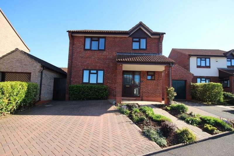 4 Bedrooms Detached House for sale in Mariners Way, Watchet TA23