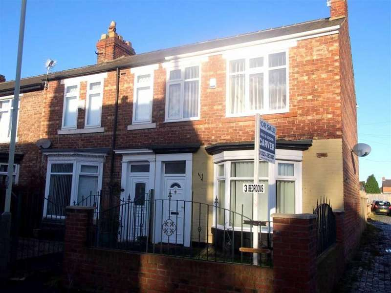 3 Bedrooms Terraced House for sale in Harris Street, Darlington