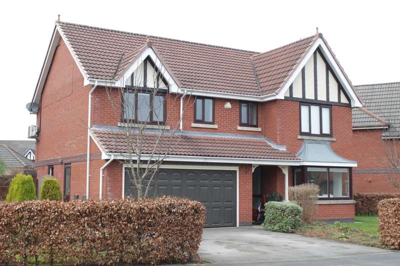 5 Bedrooms Detached House for sale in Kingsley Road, Preston, Lancashire, PR4