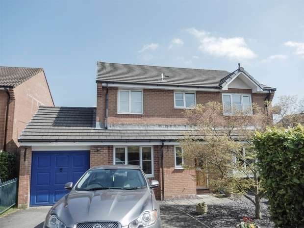 4 Bedrooms Detached House for sale in Morgan Way, Peasedown St John, BATH