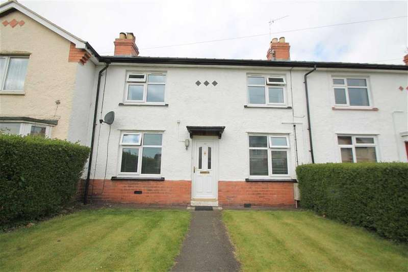 2 Bedrooms Terraced House for sale in Glan Garth, Wrexham