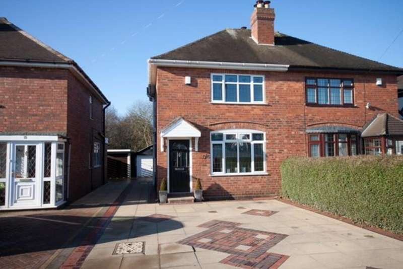2 Bedrooms Semi Detached House for sale in Seeds Lane, Brownhills