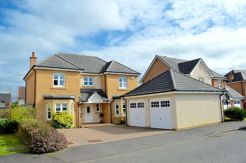 4 Bedrooms Detached House for sale in Doonvale Drive, Alloway, Ayr, Ayrshire, KA6 6EF