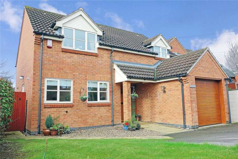 4 Bedrooms Detached House for sale in Middle Lane, Nether Broughton, Melton Mowbray