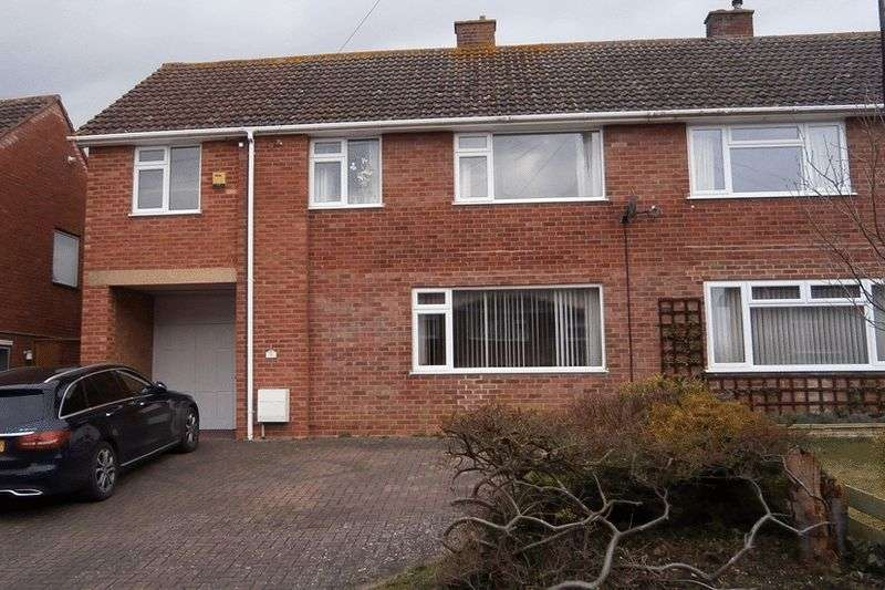 4 Bedrooms Semi Detached House for sale in Derwent Drive, Tewkesbury
