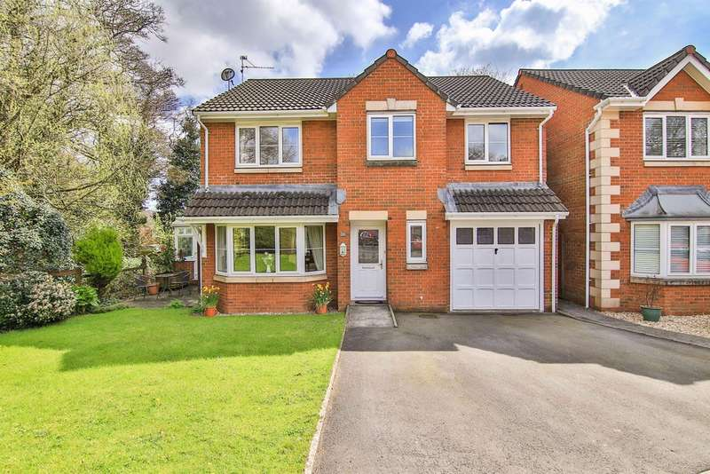 5 Bedrooms Detached House for sale in Coed Y Wenallt, Rhiwbina, Cardiff