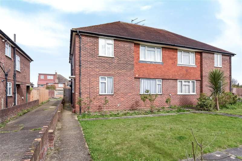 2 Bedrooms Maisonette Flat for sale in Whitby Road, Ruislip, Middlesex, HA4