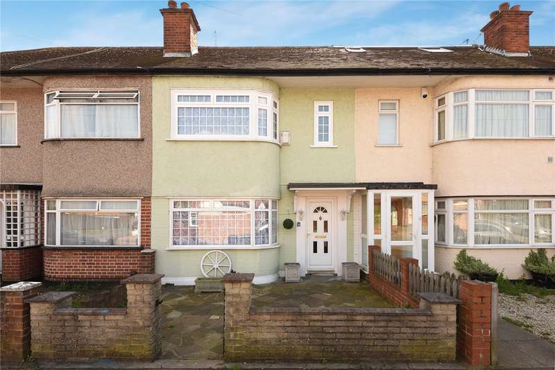 3 Bedrooms Terraced House for sale in Whitby Road, Ruislip, Middlesex, HA4