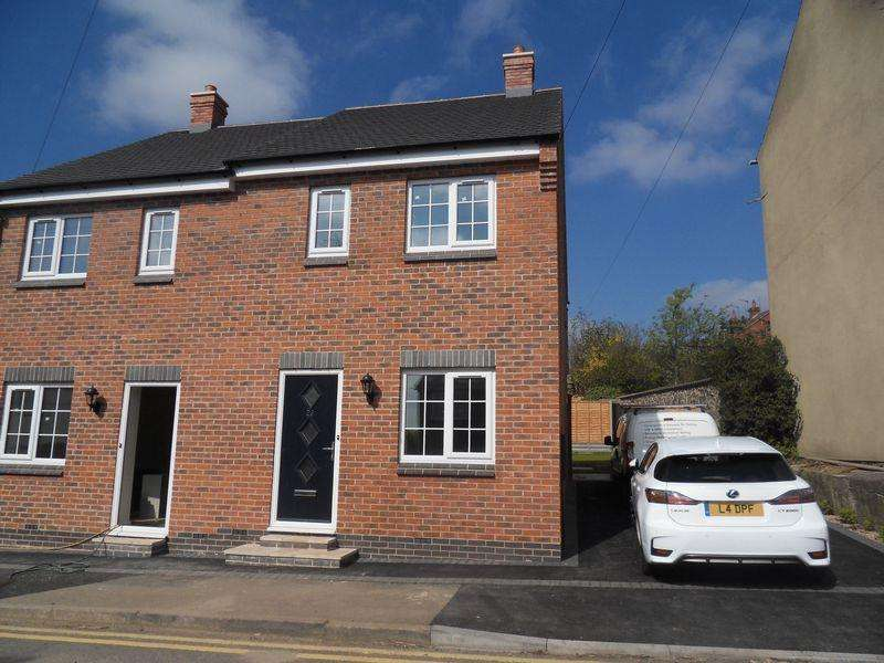 2 Bedrooms Semi Detached House for sale in Dennis Street, Hugglescote