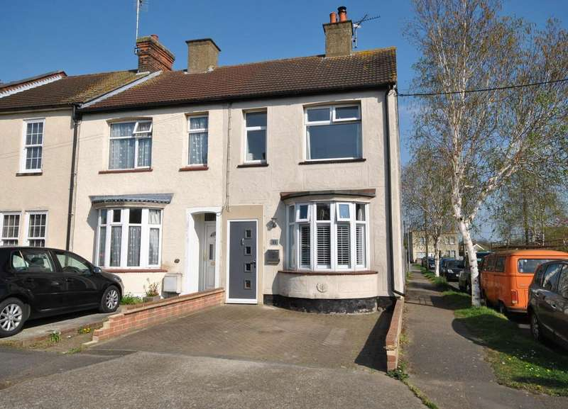 3 Bedrooms End Of Terrace House for sale in Short Road, Hadleigh