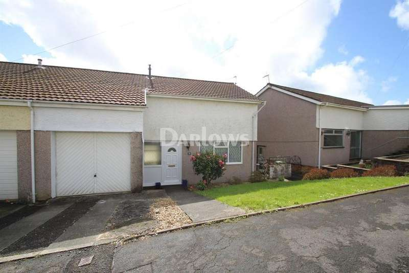 3 Bedrooms Semi Detached House for sale in Vale Gardens, Graigwen