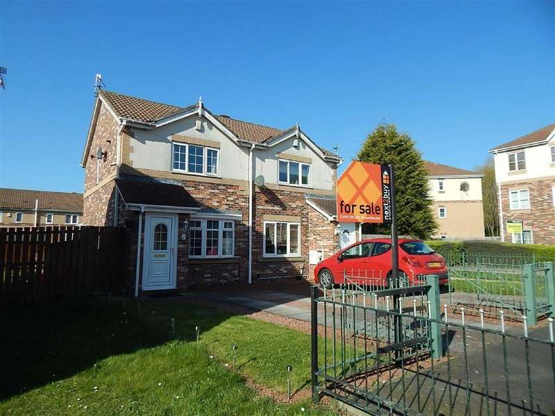 2 Bedrooms Semi Detached House for sale in Praetorian Drive, Wallsend, Tyne Wear, NE28