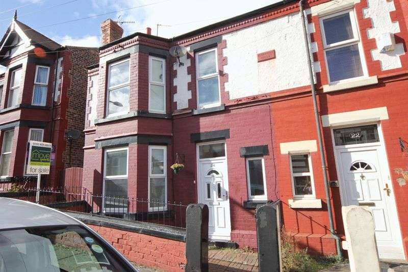 4 Bedrooms Semi Detached House for sale in South Hill Road, Oxton, Wirral