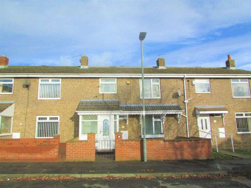 3 Bedrooms Semi Detached House for sale in Dodds Close, Wheatley Hill, Durham