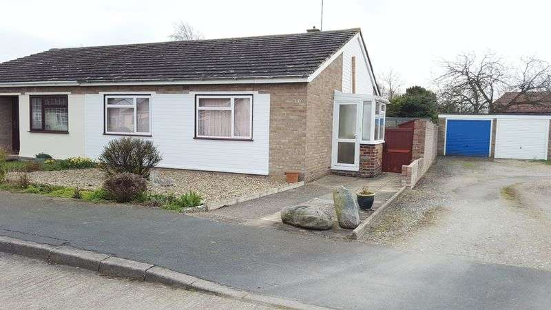 2 Bedrooms Semi Detached Bungalow for sale in Honeysuckle Way, Thorrington