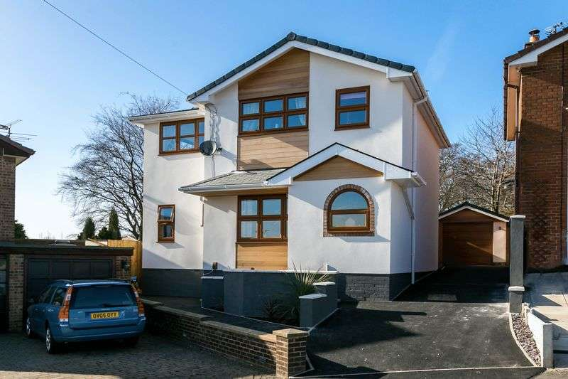 4 Bedrooms Detached House for sale in Whitehall Avenue, Appley Bridge, WN6 9JU