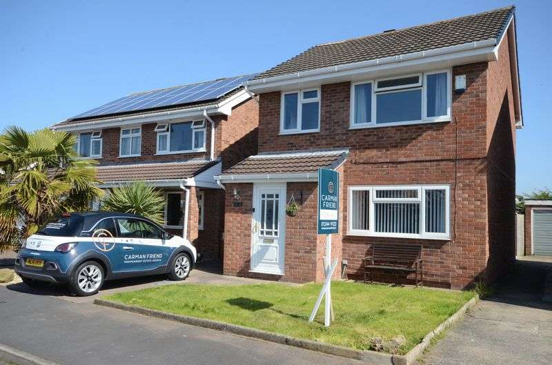 3 Bedrooms Detached House for sale in Conway Close, Saltney, Chester