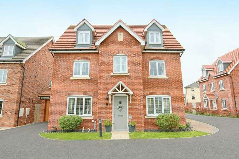 5 Bedrooms Detached House for sale in Maureen Campbell Drive, Wychwood Village, Weston