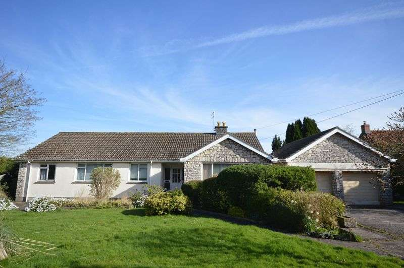 3 Bedrooms Detached Bungalow for sale in Compton Martin, Near Bristol