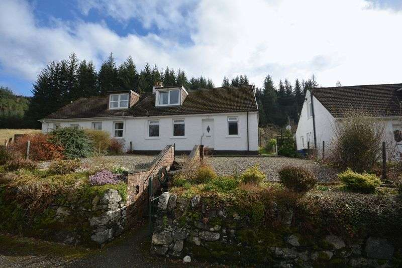 3 Bedrooms Semi Detached House for sale in Creagan Cottages, Callander