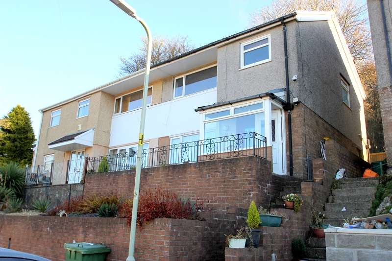 3 Bedrooms Semi Detached House for sale in Abbey Close, Taffs Well, Cardiff. CF15 7RS