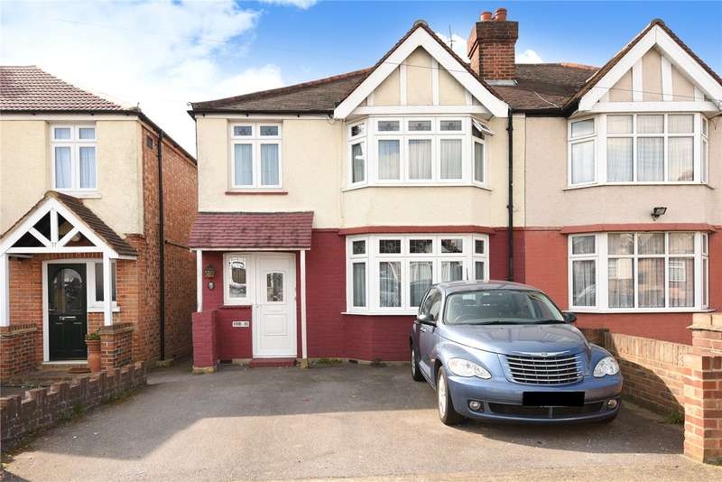 3 Bedrooms Semi Detached House for sale in Denziloe Avenue, Uxbridge, Middlesex, UB10