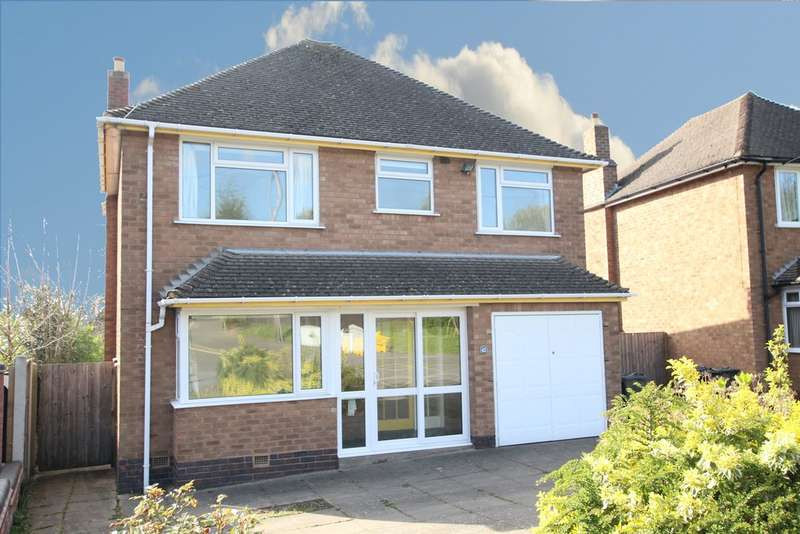 4 Bedrooms Detached House for sale in Bedford Drive, Sutton Coldfield, B75 6AU